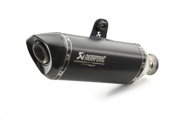 KTM AKRAPOVIC SLIP ON SILENCER BLACK
