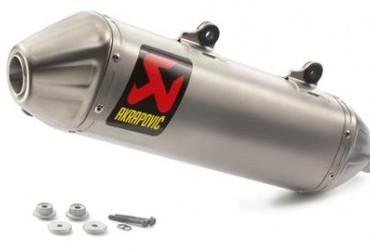 AKRAPOVIC SLIP ON LINE SILENCER 4 STROKE 2016-18