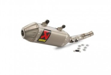 EX DISPLAY AKRAPOVIC SLIP ON SXF450 2019-2020