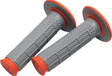Grip Renthal Tapered Dual Compound  Orange G164