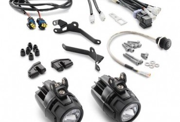 Supplementary headlight kit