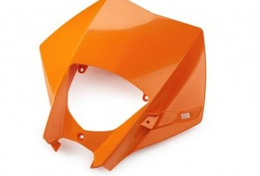 HEADLIGHT MASK ORANGE EXC 05-07