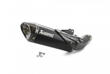 KTM AKRAPOVIC SLIP ON LINE BLACK