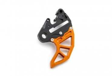 KTM Cnc Brake Caliper Support With Brake Disc Guard