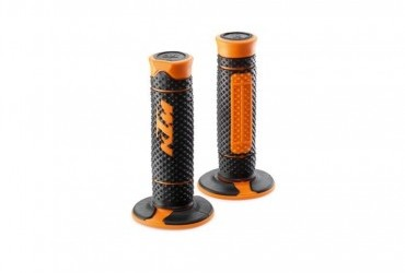KTM Grip Set Black/orange