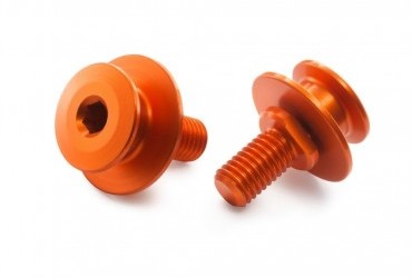 KTM Rear Wheel Stand Bobbins Orange