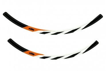 KTM Wheel Rim Sticker Kit