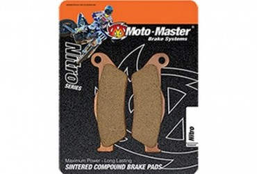 MOTOMASTER Front and Rear Brake Pad Set FRONT