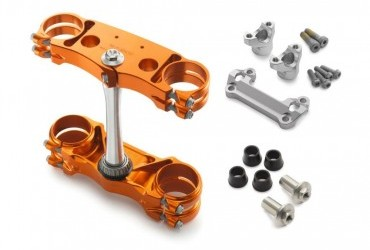 KTM Factory triple clamp kit