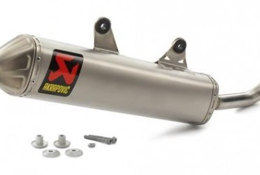 AKRAPOVIC SLIP ON SILENCER SX/EXC 250/300 2017-18