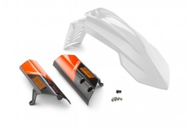 KTM Fender Kit White