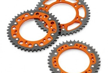 2K REAR SPROCKET ORANGE